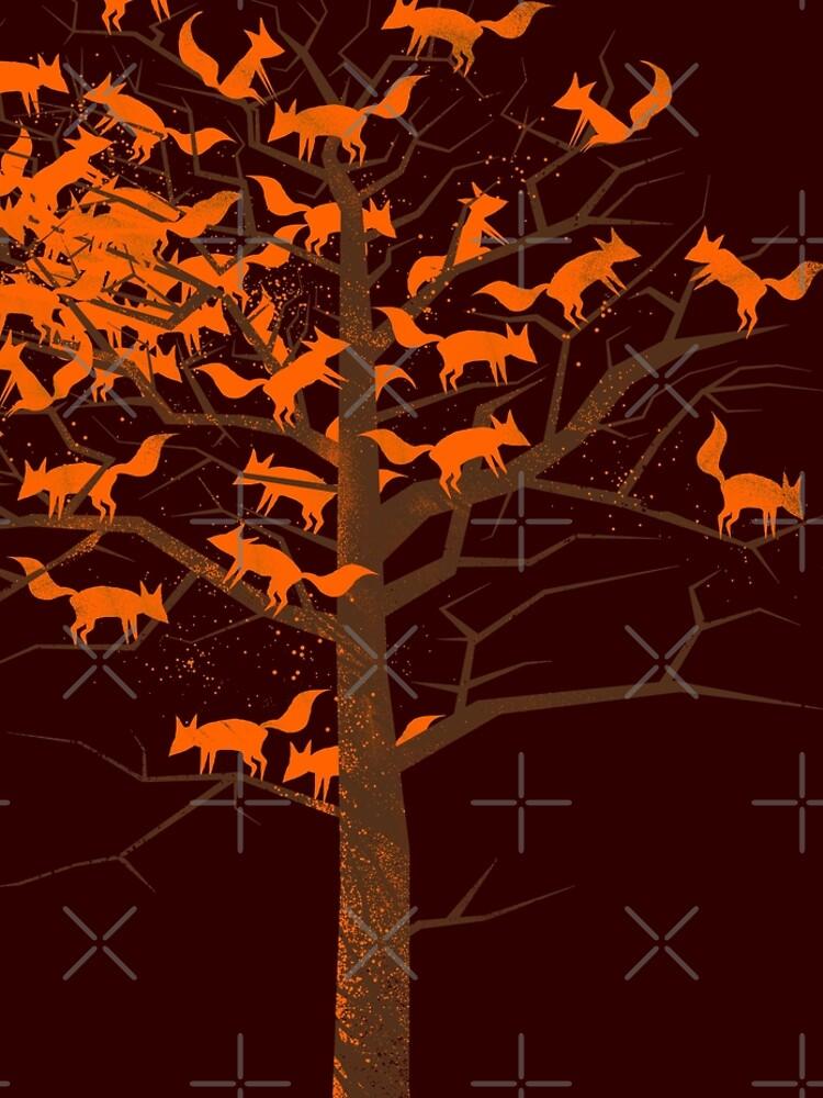 Blazing Fox Tree by 38Sunsets