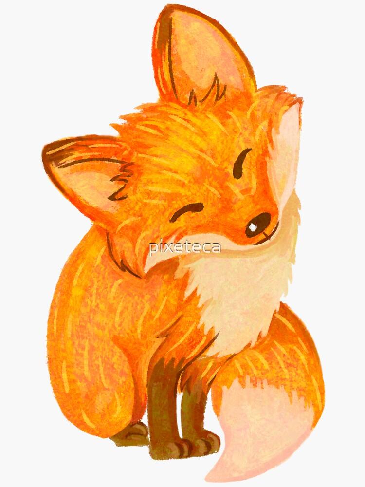 Happy Fox by pixeteca