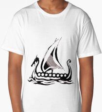 Viking Ship Long T-Shirt
