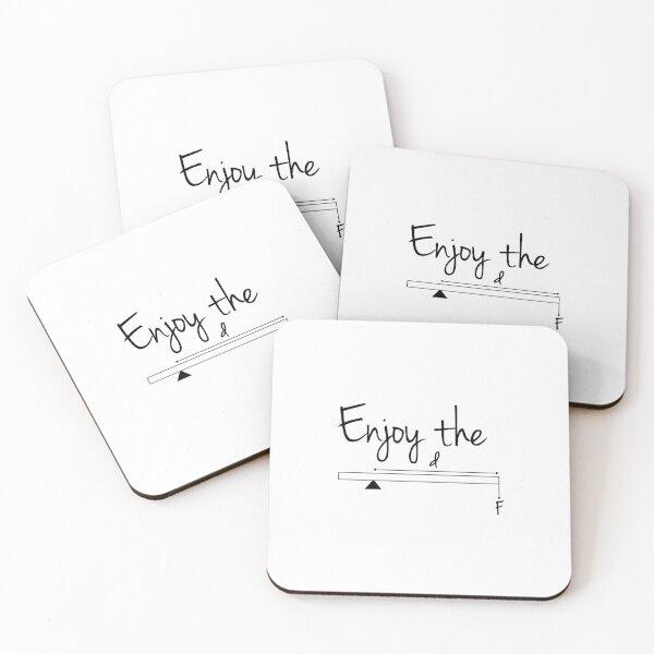 Enjoy the Moment Coasters (Set of 4)