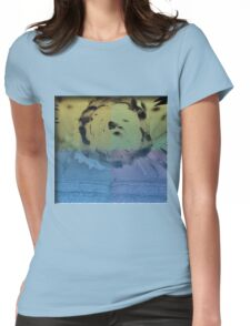 Liquid Bloom Womens Fitted T-Shirt