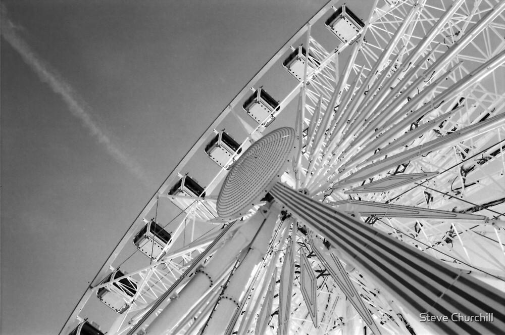 Brighton Wheel by Steve Churchill