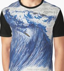 RAYMOND PETTIBON , Untitled (Going with the flow) , 2000 Graphic T-Shirt