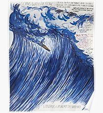 RAYMOND PETTIBON , Untitled (Going with the flow) , 2000 Poster