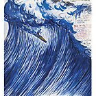 RAYMOND PETTIBON , Untitled (Going with the flow) , 2000 by bigger