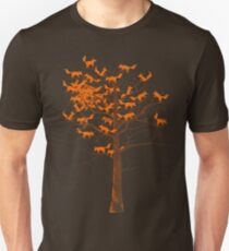 Blazing Fox Tree Unisex T-Shirt