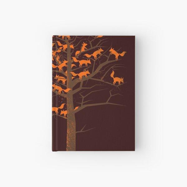 Blazing Fox Tree Hardcover Journal