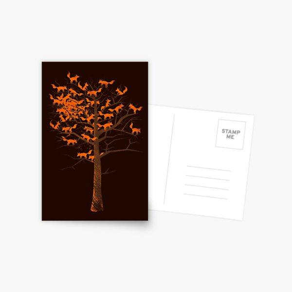 Blazing Fox Tree Postcard