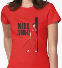 Kill Joong-ki Womens Fitted T-Shirt