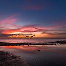 Brook Chine sunset by manateevoyager