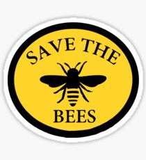 Save The Bees Sticker