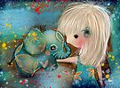 my elephant friend by Karin Taylor