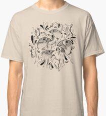 Fine Finches (linework) Classic T-Shirt