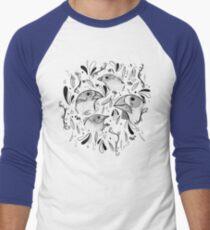 Fine Finches (linework) T-Shirt
