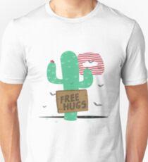 Cactus free hugs Unisex T-Shirt