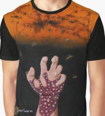 Insect Swarm Graphic T-Shirt
