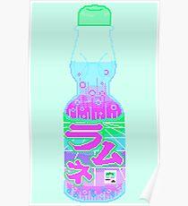Vaporwave Ramune Poster