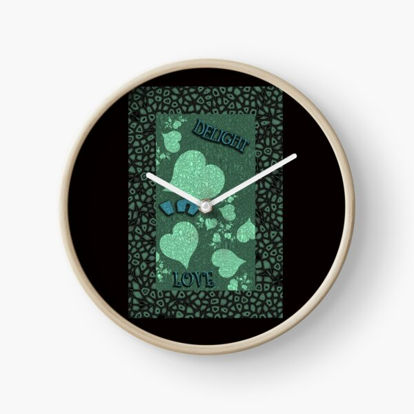 Delight In Love Clock