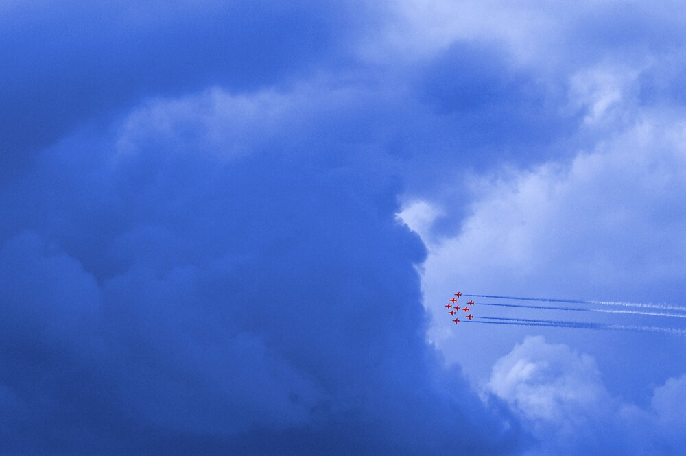 Reds into the blue by PeteG