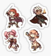 Fire Emblem Echoes - Celica Set Sticker