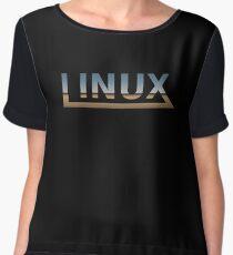 Linux Women's Chiffon Top