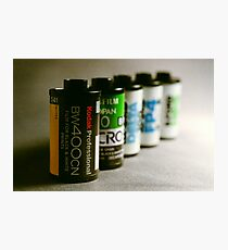 35mm Film Photographic Print