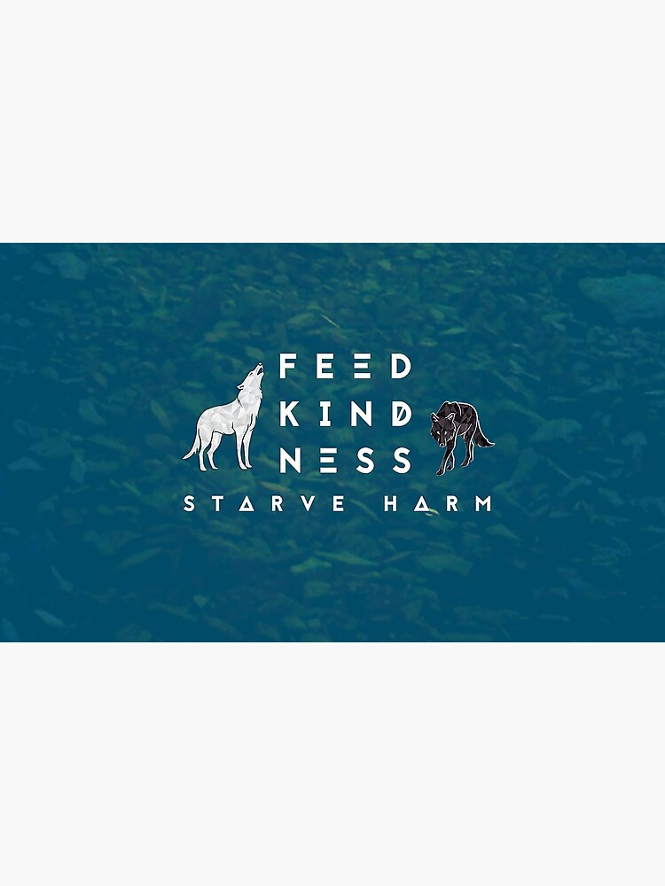 Feed Kindness Starve Harm Logo - Blue by FeedKindness