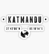 Katmandu Sticker