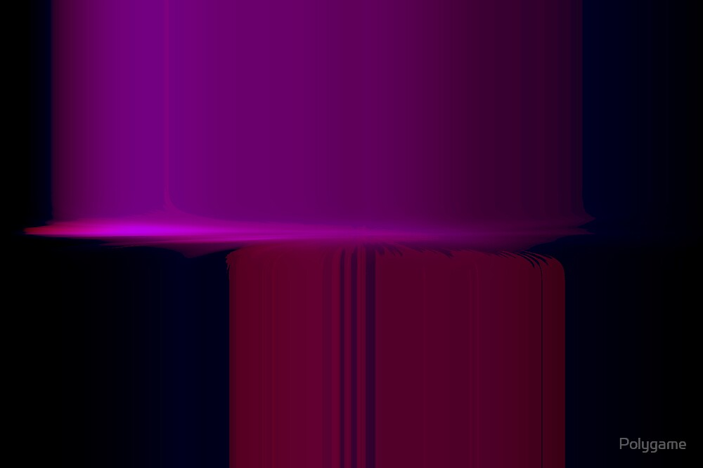 Purlple Tree Purple Light by Polygame