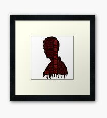Spike Quotes Framed Print