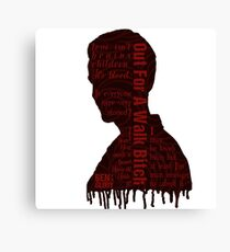 Spike Quotes Canvas Print