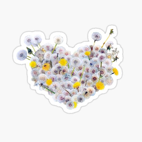 Heart (Dandelions) Sticker