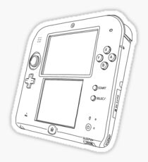 Nintendo 2DS Sticker