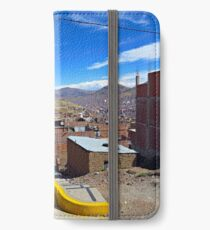 City Scene, Puno, Peru - Color iPhone Wallet/Case/Skin