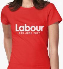 Vote Labour 2017 Womens Fitted T-Shirt