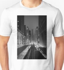 Chicago from the L Train Unisex T-Shirt