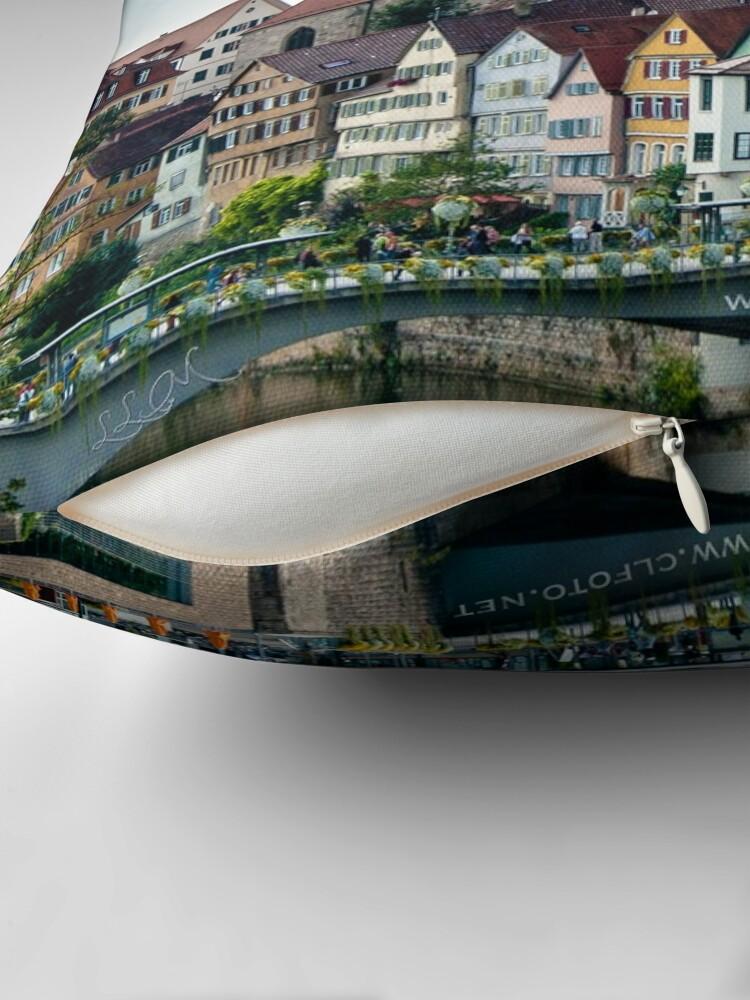 Alternate view of Fairy Tale Town, Tübingen, Germany Throw Pillow
