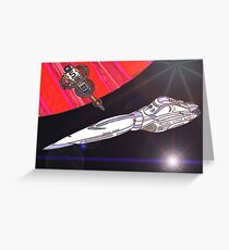 Star Liner Queen Emma Greeting Card
