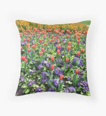 Tulips On Display (2) Throw Pillow