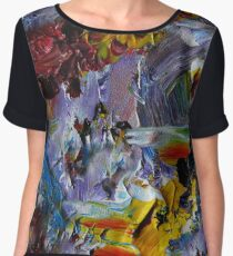 Just Another Abstract Chiffon Top