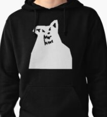 Russ Diemon - There's Really A Wolf Album Cover [WHITE] Pullover Hoodie
