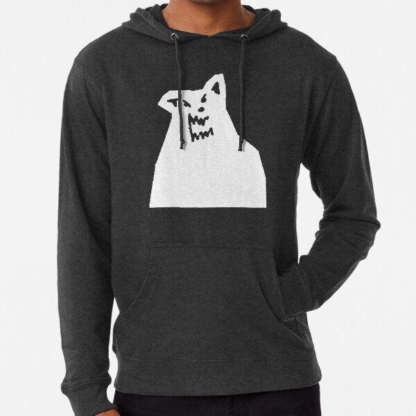 Russ Diemon - There's Really A Wolf Album Cover [WHITE] Lightweight Hoodie