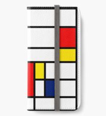 Mondrian Composition iPhone Wallet/Case/Skin