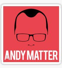 Andy Matter  Sticker