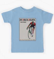 VUELTA CICLISTA: Vintage Bike Racing Advertising Print Kids Tee