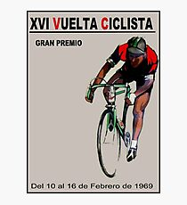 VUELTA CICLISTA: Vintage Bike Racing Advertising Print Photographic Print