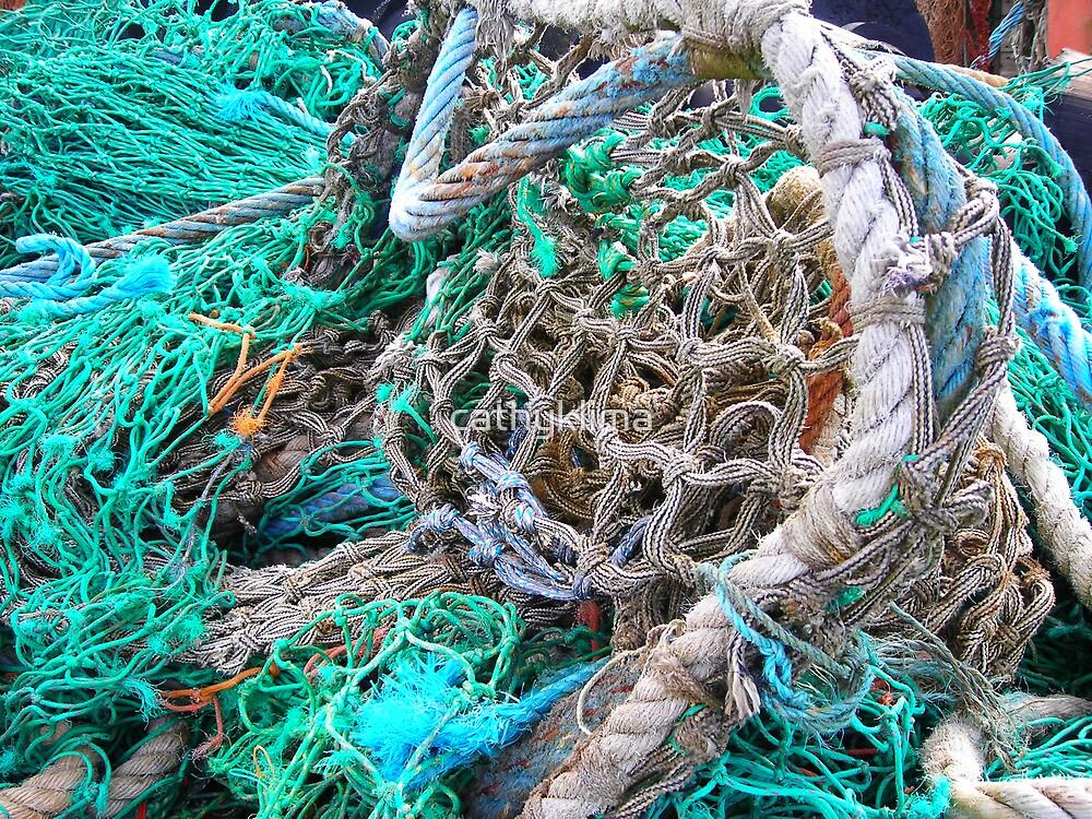 Fishing Nets Dingle, Ireland by cathyklima