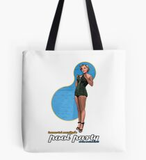 Immortal Marilyn Pool Party 2017 with Logo Tote Bag