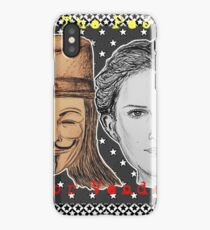 (V For Vendetta - We The People) - yks by ofs珊 iPhone Case