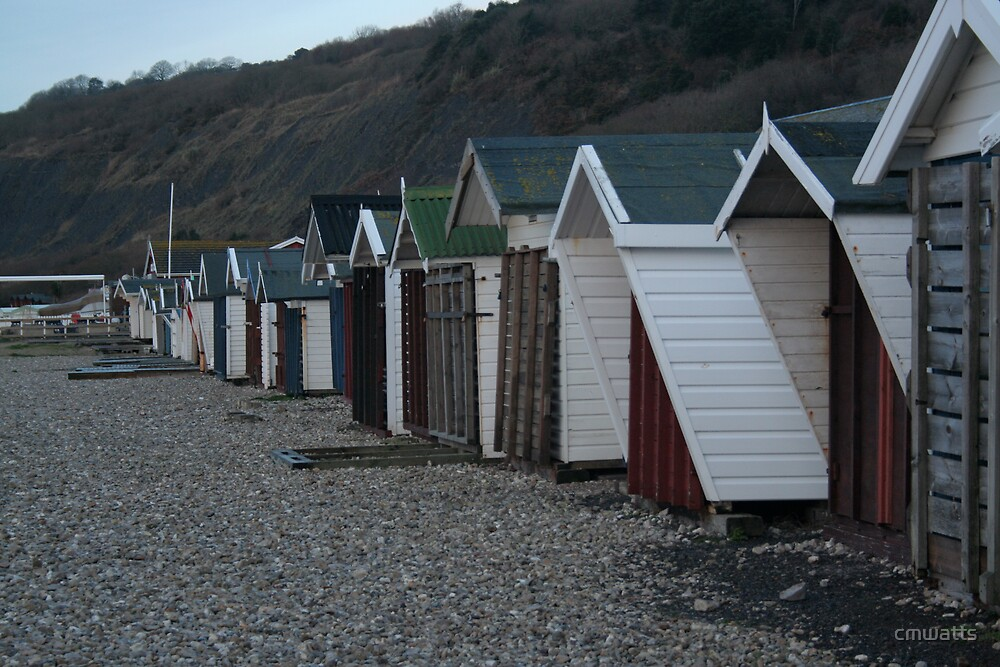 Beach Huts by cmwatts